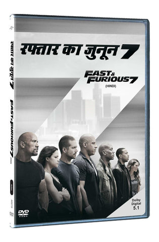 Buy Fast & Furious 7 Hindi Dub online for USD 13.11 at alldesineeds