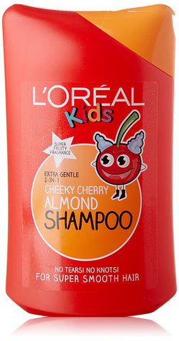 L'Oreal - Kids Cherry Shampoo 250ml(Made In France)