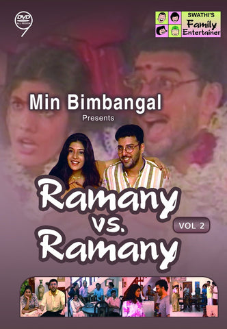 Buy Ramany Vs Ramany - Vol. 2: TAMIL DVD online for USD 9.45 at alldesineeds