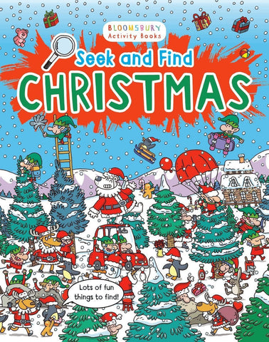 Seek and Find Christmas [Oct 06, 2016] Migliardo, Emiliano] [[ISBN:1408874032]] [[Format:Paperback]] [[Condition:Brand New]] [[ISBN-10:1408874032]] [[binding:Paperback]] [[manufacturer:Bloomsbury Childrens]] [[number_of_pages:24]] [[publication_date:2016-10-06]] [[brand:Bloomsbury Childrens]] [[ean:9781408874035]] for USD 13.43