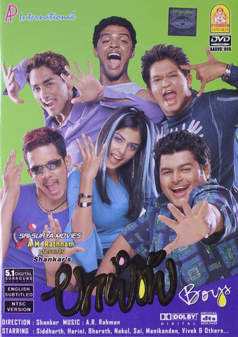 Buy Boys: TAMIL DVD online for USD 9.45 at alldesineeds