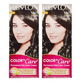 Buy Revlon Combo of Color N Care Hair Color - Natural Black 1N online for USD 17.31 at alldesineeds