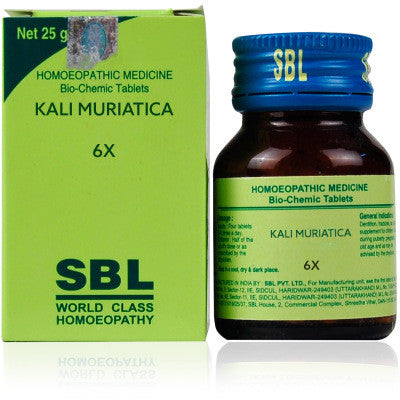 2 pack of SBL Kali Muriaticum Bio Chemic Tabs - alldesineeds
