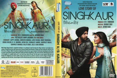 Buy Love Story of Singh v/s Kaur: PUNJABI DVD online for USD 8.99 at alldesineeds