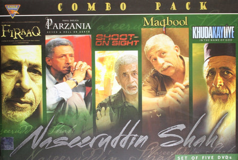Buy Naseeruddin Shah (Set of 5 DVDs) online for USD 19.61 at alldesineeds