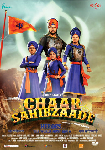 Buy Chaar Sahibzaade: PUNJABI DVD online for USD 9.99 at alldesineeds