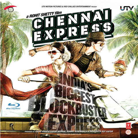 Chennai Express : BLURAY DVD - alldesineeds
