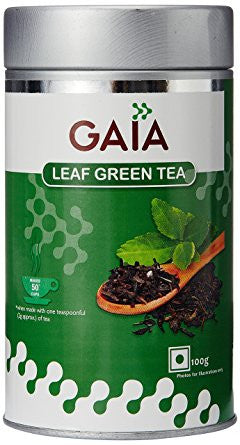 Gaia Green Tea Leaf 100Gms