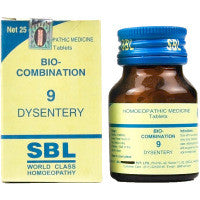 Buy Set of 2 packs of Dysentery 9 Bio Combination Tabs online for USD 41.14 at alldesineeds