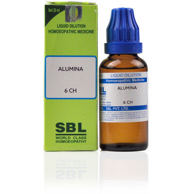 2 x SBL Alumina 6 CH 30ml each - alldesineeds