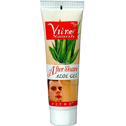 Buy VITRO NATURALS After Shave - Aloe Gel 1 pc Tube online for USD 8.41 at alldesineeds