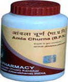 3 Pack Divya Patanjali Amla Churna - 100gms each (Total 300 gms) - alldesineeds