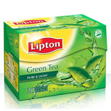 Lipton Green Tea Pure & Light 20 Tea Bags