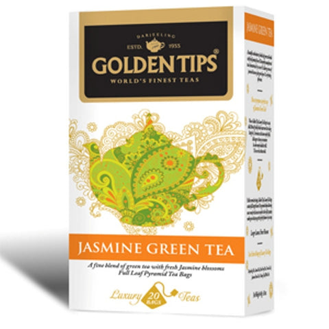 Jasmine Green Tea - 20 TBs - Golden Tips