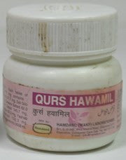 Buy 2 Pack Hamdard Qurs Hawamil 20 tablets online for USD 9.5 at alldesineeds