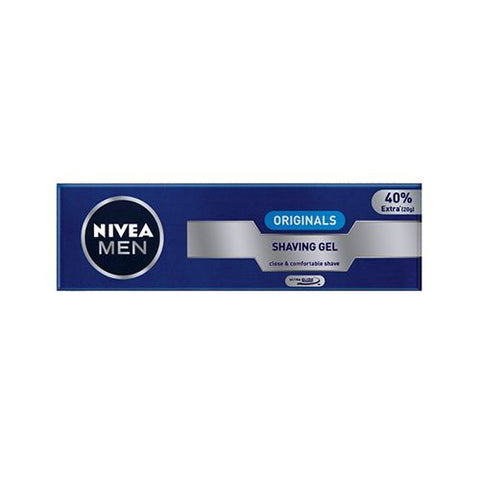 Buy NIVEA Shaving Gel - Originals, for Men, 70 gm online for USD 6.96 at alldesineeds