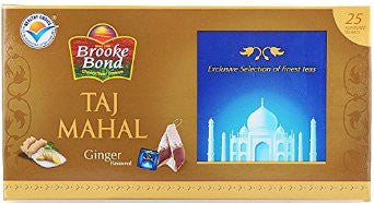 Taj Mahal Ginger Tea Bags 25