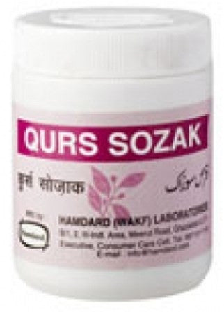 Buy 2 Pack Hamdard Qurs Sozak 40 Tablets online for USD 12.35 at alldesineeds