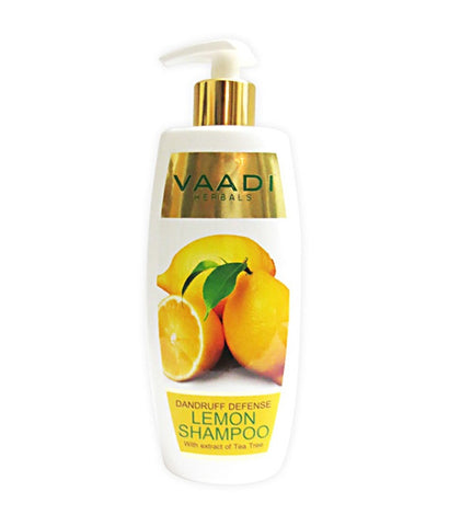 Buy 4 Pack Vaadi Dandruff Defense LEMON SHAMPOO 110 ml each online for USD 15.99 at alldesineeds