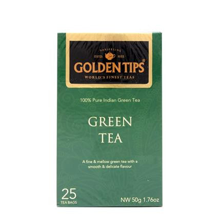 Pure Indian Green Tea - Golden Tips 50 gms each