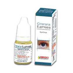 2 pack Bakson's Homeopathy - Cineraria Euphrasia Eye Drops 10ml