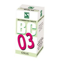 Buy 3 X Schwabe Homeopathy Bio Combination 03 for Colic .(pack of 3) online for USD 27.99 at alldesineeds