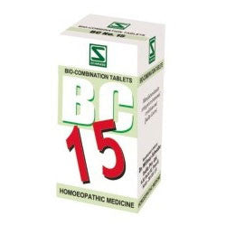 Buy 3 X Schwabe Homeopathy Bio Combination 15 for Menstruation Troubles. online for USD 27.99 at alldesineeds
