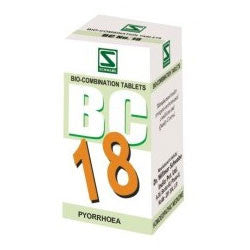 Buy 3 X Schwabe Homeopathy Bio Combination 18 for Pyorrhoea. online for USD 27.99 at alldesineeds
