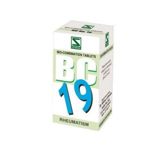 Buy 3 x Schwabe Homeopathy Bio Combination 19 for Rheumatism. online for USD 27.99 at alldesineeds