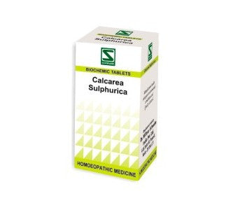 3 X Schwabe Homeopathy Calcarea Sulphurica For Eczema and skin eruptions. - alldesineeds