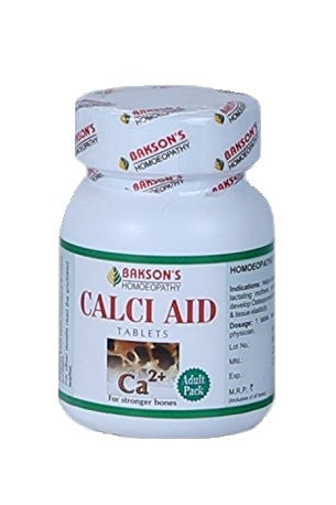 Buy 2 x BAKSONS Calci Aid 100 Tabs (Total 200 Tabs) online for USD 15.2 at alldesineeds