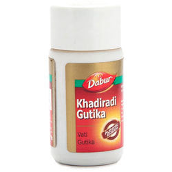 Dabur Khadiradi Gutika 80tablets combo of 5 packs - alldesineeds