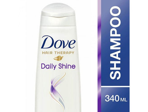 Buy DOVE Hair Therapy Daily Shine Shampoo 340 ml online for USD 17.24 at alldesineeds