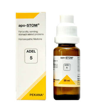 1 x ADEL Germany Adel 5 - APO-STOM DROPS, 20ml each - alldesineeds