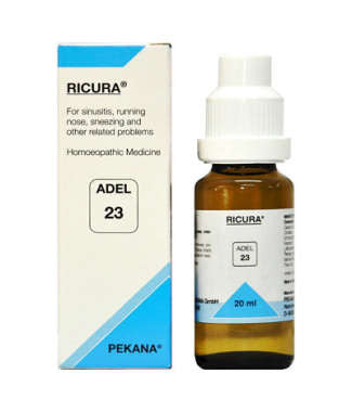 1 x ADEL Germany Adel 23 - RICURA DROPS, 20ml each - alldesineeds