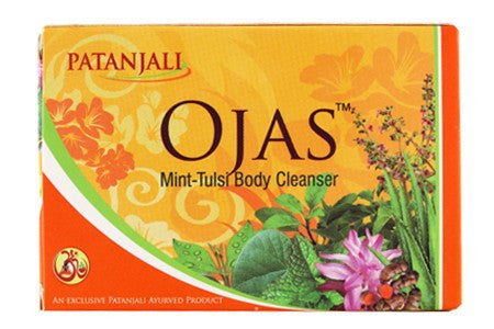 Buy Baba Ramdev Patanjali Ojas Mint Tulsi Body Cleanser 75 g online for USD 8.35 at alldesineeds