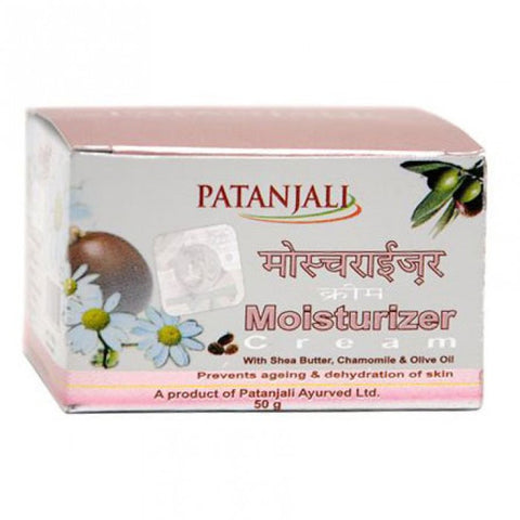 Buy 2 x Patanjali Moisturizer Cream - 50gm Pack of 2 online for USD 27.99 at alldesineeds