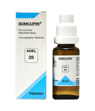 1 x ADEL Germany Adel 25 - SOMCUPIN DROPS, 20ml each - alldesineeds