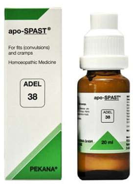 1 x ADEL Germany Adel 38 - APO SPAST DROPS, 20ml each - alldesineeds