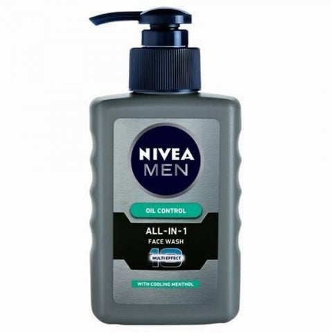 Buy NIVEA Face Wash - Men Oil Control All in One 150 ml Bottle online for USD 13.71 at alldesineeds
