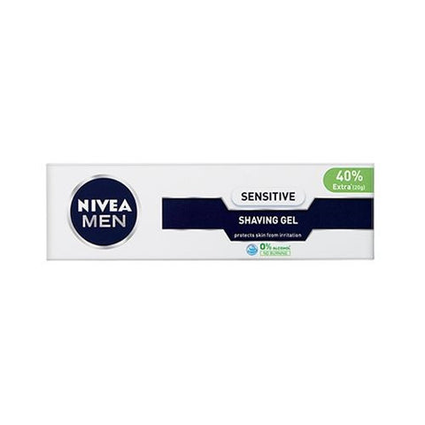 Buy NIVEA Shaving Gel - Sensitive, for Men 70 gm online for USD 7.09 at alldesineeds