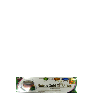 Nutrus Slim Tea Natural Lemon Flavor Sachets 20