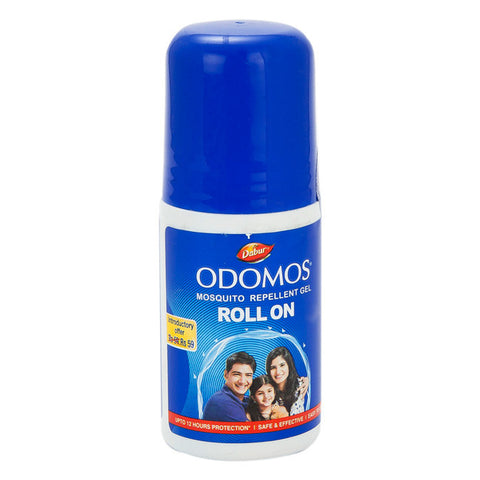Buy ODOMOS MOSQUITO REPELLENT GEL ROLL ON 50G x 2 ( 100 gms) online for USD 10.5 at alldesineeds