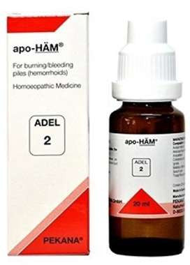 1 x ADEL Germany Adel 2 - APO HAM DROPSS, 20ml each - alldesineeds