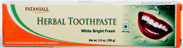 Buy Patanjali Herbal Toothpaste online for USD 7.95 at alldesineeds