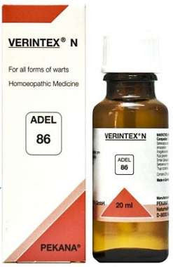 1 x ADEL Germany Adel 86 - VERINTEX N EXTERNAL DROPS, 20ml each - alldesineeds