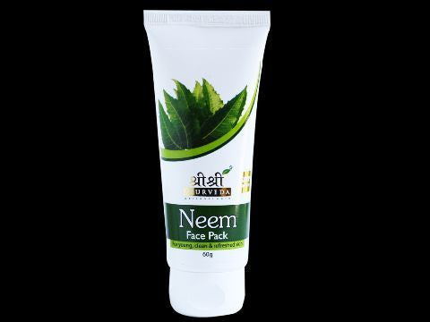Buy 2 x Sri Sri Neem Face Pack (Cosmetics) 60ml each online for USD 10.52 at alldesineeds