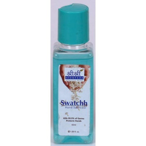 Buy 2 x Sri Sri Swatchh Hand Sanitizer 50ml each online for USD 10.2 at alldesineeds