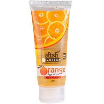 Buy 2 x Sri Sri Orange Face Wash 60ml each online for USD 10.06 at alldesineeds