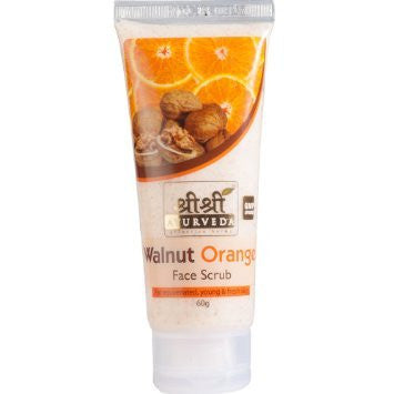 Buy 2 x Sri Sri Walnut Orange Scrub 60ml each online for USD 10.25 at alldesineeds